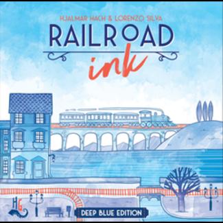 Horrible Guild Game Studio Railroad Ink: Deep Blue