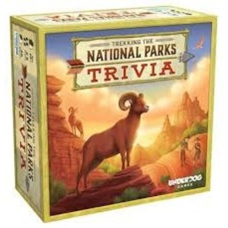 Underdog Games Trekking The National Parks Trivia
