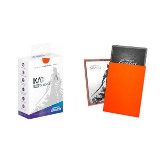Ultra Pro Orange Standard Size Katana Sleeves 100 ct - Ultra Pro
