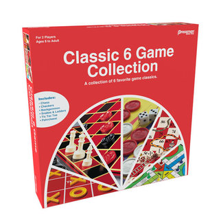 Pressman Classic 6 Game Collection