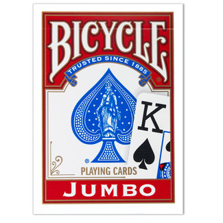 Bicycle Bicycle Jumbo Faces Playing Cards
