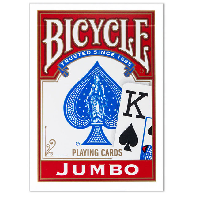 Bicycle Jumbo Faces Playing Cards