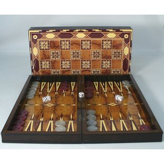 "19"" Marrakesh Decoupage Wood Backgammon"