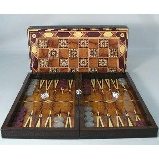 "19"" Marrakesh Decoupage Wood Backgammon"