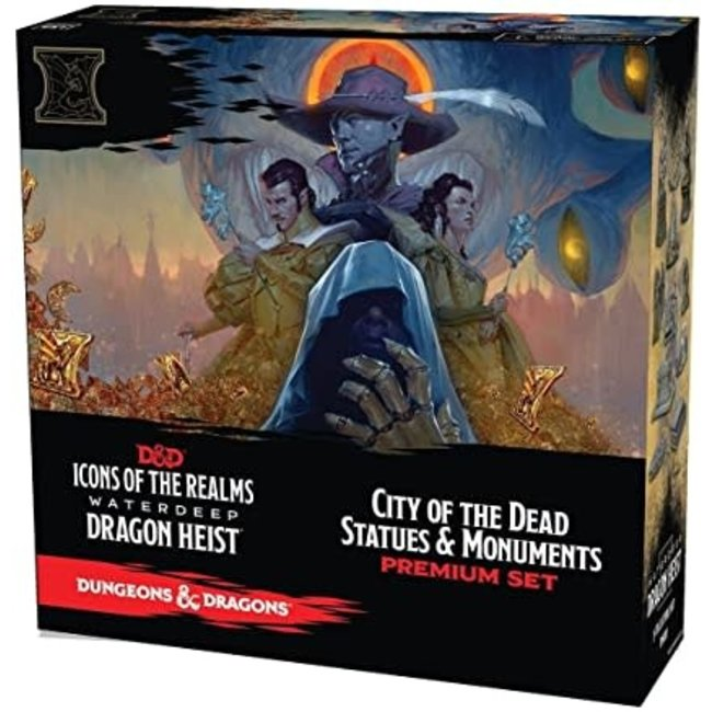 D&D Waterdeep Dragon Heist: City of the Dead Statues & Monuments