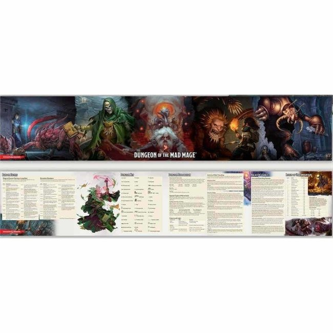 D&D Waterdeep: Dungeon of the Mad Mage DM Screen