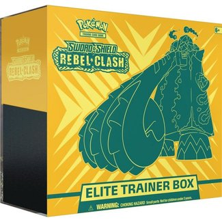 Pokemon Pokemon Rebel Clash Elite Trainer Box