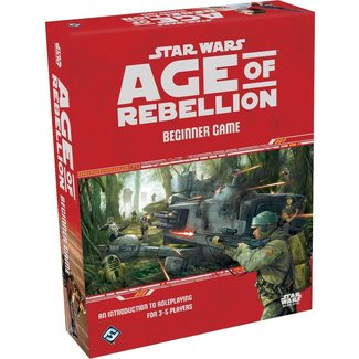 Fantasy Flight Games Star Wars Age of Rebellion: Beginner Game