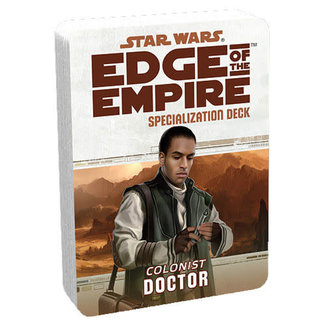 Fantasy Flight Games Star Wars Edge of the Empire: Colonist Doctor Specialization Deck