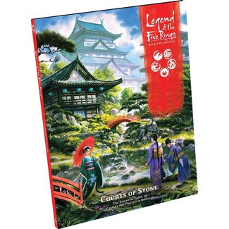 Fantasy Flight Games Legend of the Five Rings RPG: Courts of Stone - Hardcover
