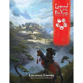 Fantasy Flight Games Legend of the Five Rings RPG: Emerald Empire - Hardcover