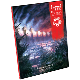 Fantasy Flight Games Legend of the Five Rings RPG: Shadowlands - Hardcover