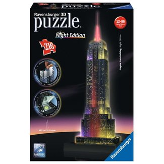 Ravensburger Empire State Building at Night 3D Puzzle  216 pc