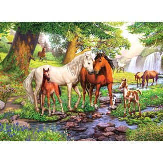 Ravensburger Horses by the Stream 300 pc