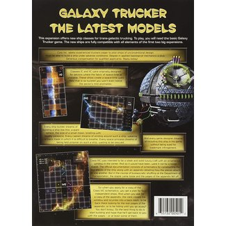 Czech Games Edition Galaxy Trucker: The Latest Models