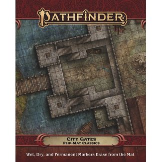 Paizo Publishing Pathfinder Flip-Mat: City Gates (Flip-Mat Classics)