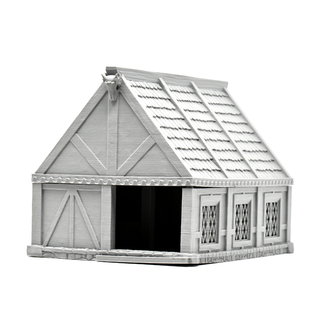 Tavern Barn Model with Removable Roof