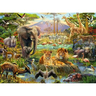 Ravensburger Animals of the Savanna 200 pc