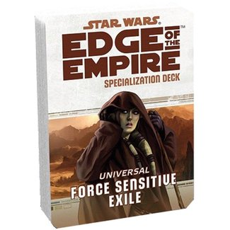 Fantasy Flight Games Star Wars Edge of the Empire: Force Sensitive Exile Specialization