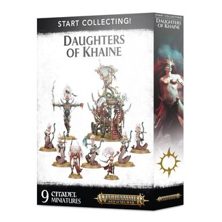 Warhammer Age of Sigmar AoS Start Collecting! Daughters of Khaine