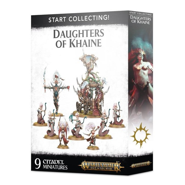 AoS Start Collecting! Daughters of Khaine