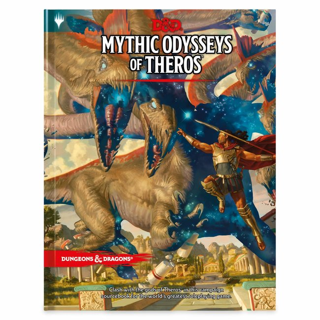 D&D RPG: Mythic Odysseys of Theros Hard Cover
