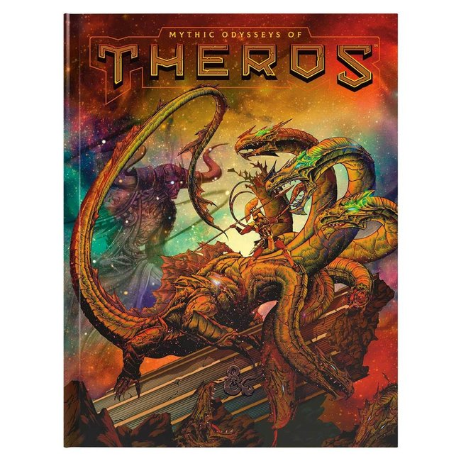 D&D RPG: Mythic Odysseys of Theros Hard Cover - Alternate Cover