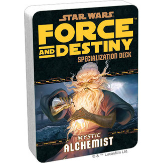 Fantasy Flight Games Star Wars Force and Destiny: Mystic Alchemist Specialization Deck