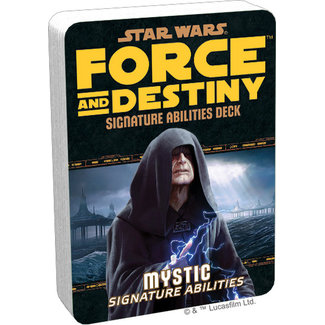 Fantasy Flight Games Star Wars Force and Destiny: Mystic Signature Abilities Specialization Deck