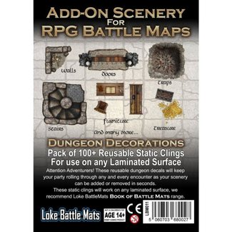 Loke Ltd. Add-On Scenery for RPG Maps Dungeon