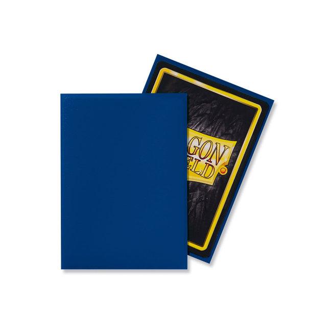 Blue Standard Matte Sleeves 100 ct - Dragon Shield