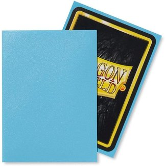 Dragon Shield Baby Blue Standard Matte Sleeves 100 ct - Dragon Shield