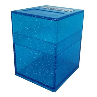 PirateLab Blue Sparkle Defender Deck Box - Pirate Lab Hinge Series