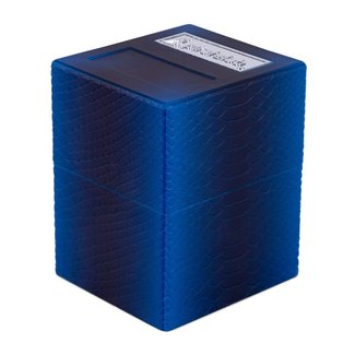 PirateLab Deep Blue Dragon Defender Deck Box - Pirate Lab Texture Series
