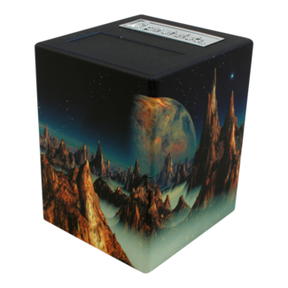 PirateLab Lunar Landscape Defender Deck Box - Pirate Lab Artwork Series