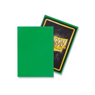 Dragon Shield Apple Green Standard Matte Sleeves 100 ct - Dragon Shield