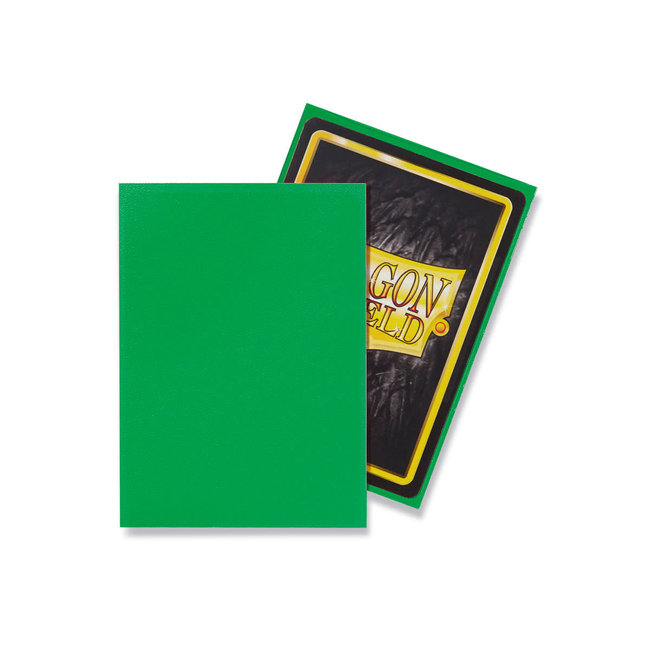 Apple Green Standard Matte Sleeves 100 ct - Dragon Shield