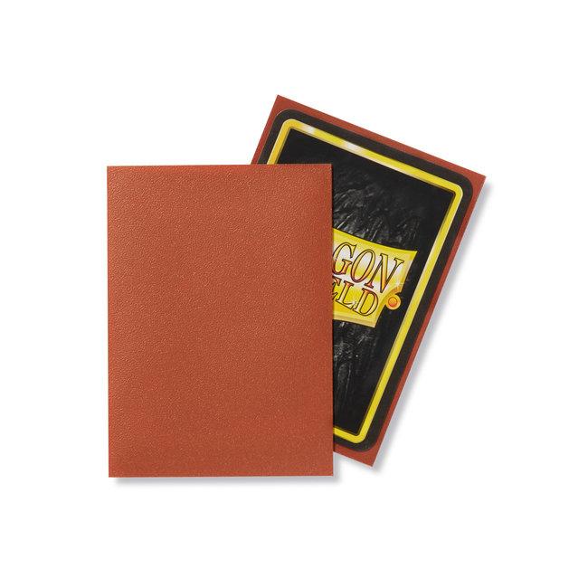 Copper Standard Matte Sleeves 100 ct - Dragon Shield