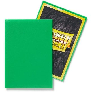 Dragon Shield Apple Green Japanese Matte Sleeves 60 ct - Dragon Shield