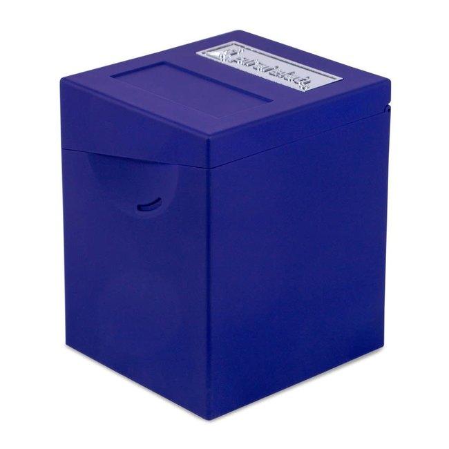 Blue Defender Deck Box - Pirate Lab Hinge Series
