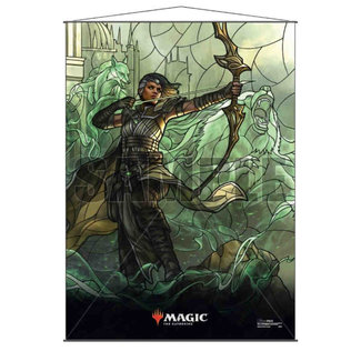Ultra Pro Vivien MTG Stained Glass Wall Scroll