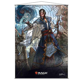 Ultra Pro Teferi MTG Stained Glass Wall Scroll