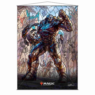 Ultra Pro Karn MTG Stained Glass Wall Scroll (SALE)