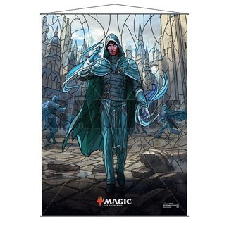 Ultra Pro Jace MTG Stained Glass Wall Scroll