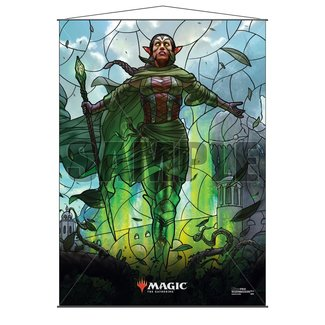 Ultra Pro Nissa MTG Stained Glass Wall Scroll