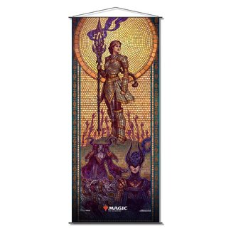 Ultra Pro Elspeth's Conquers MTG Mosaic Wall Scroll