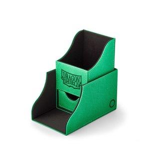 Dragon Shield Black/Green Nest+ 100 - Dragon Shield Deck Box