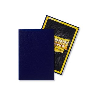 Dragon Shield Night Blue Japanese Matte Sleeves 60 ct - Dragon Shield