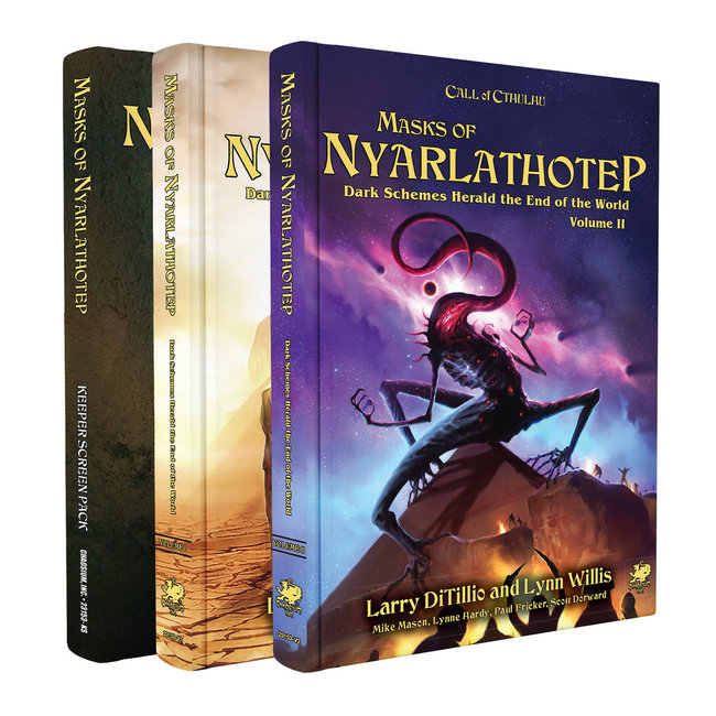 Call of Cthulhu: Masks of Nyarlathotep - An Epic Globetrotting Campaign (Remastered)