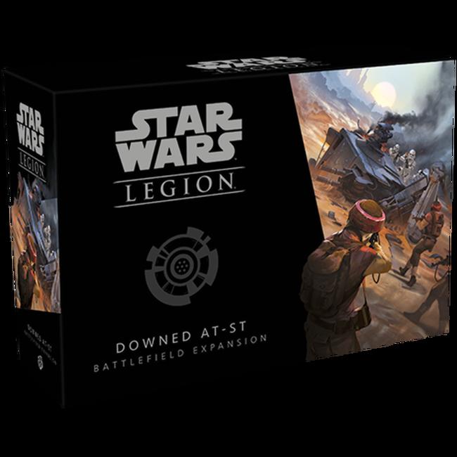 Downed AT-ST Battlefield - Star Wars Legion